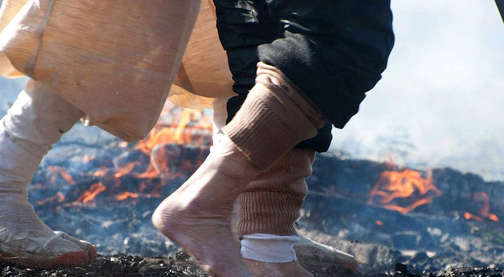 Something Hot a Foot
