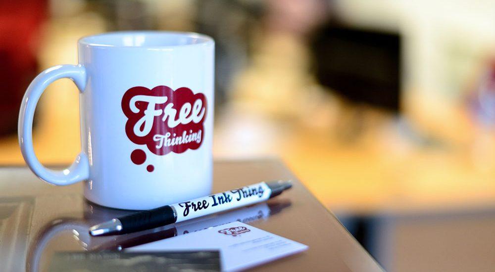 Free Thinking Mug