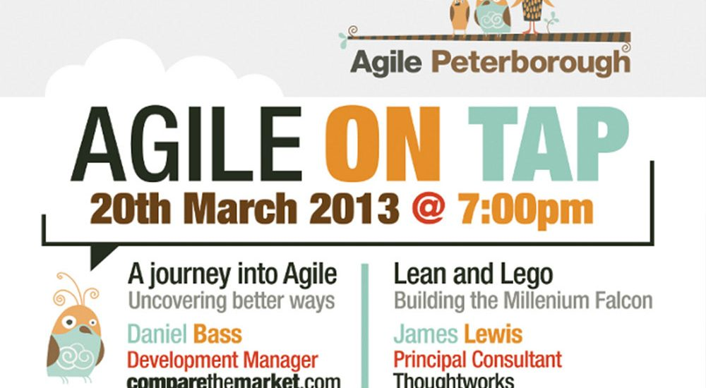 Agile on Tap Poster