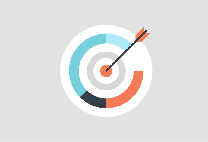Aim Target Illustration