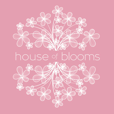 House of Blooms logo development