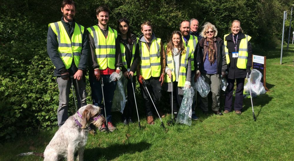 Free Thinking Litter picking in Peterborough