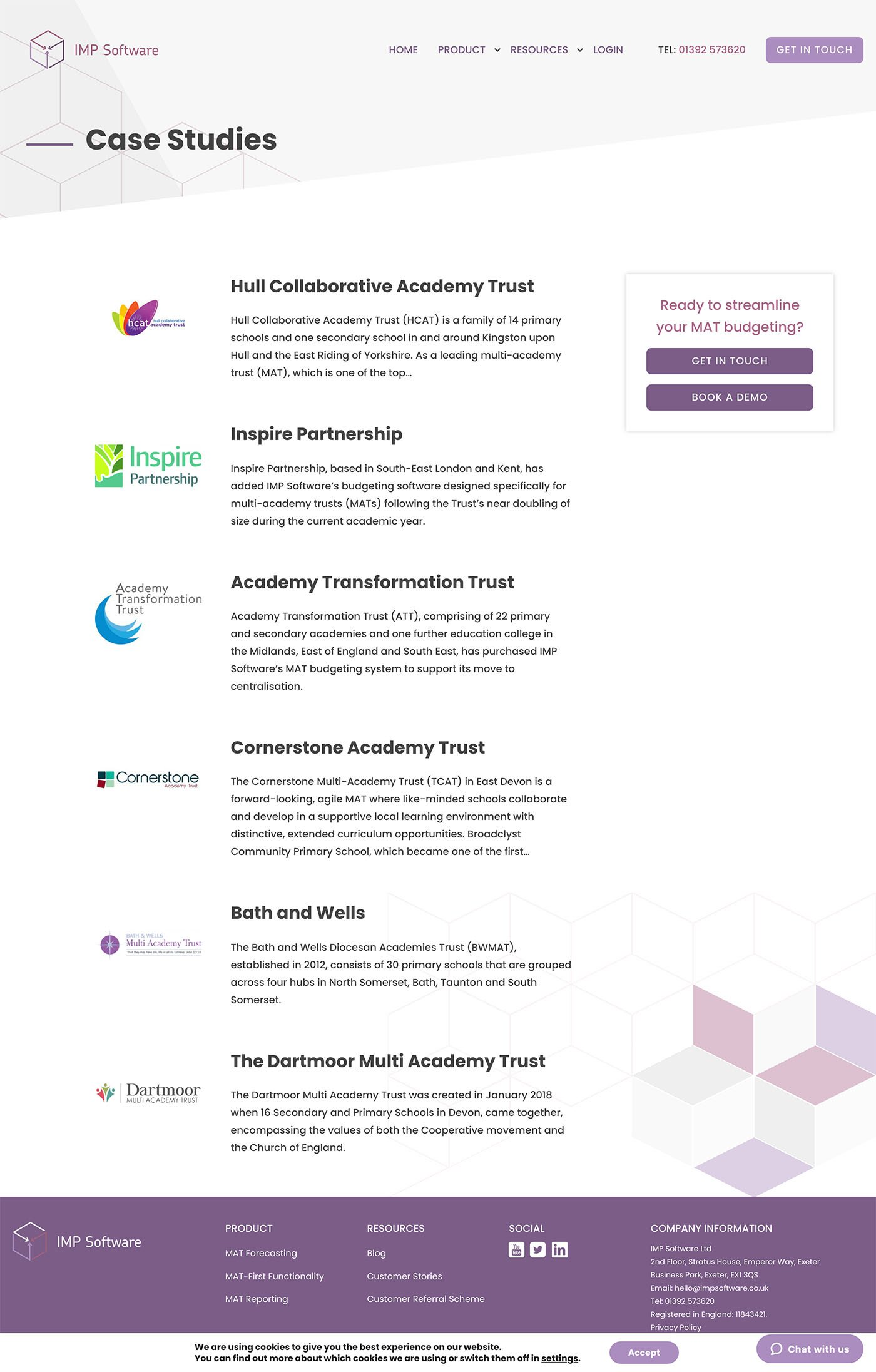 IMP Software case study